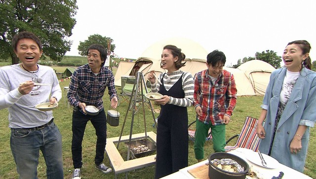 「浜ちゃんが!」浜田雅功&秋元才加に最新キャンプ事情を紹介! [6/8 25:59~]