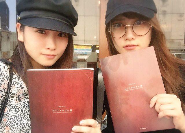 川栄李奈&AKB48入山杏奈、シリアルキラー展へ「凄い。絵描きたくなった」