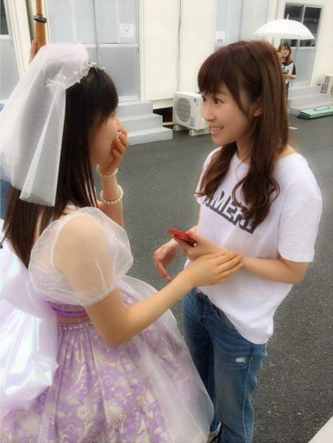 HKT48指原莉乃「まーちゃんがこっちに走ってきて夢かと思った。の図。。。好きぃ。。」