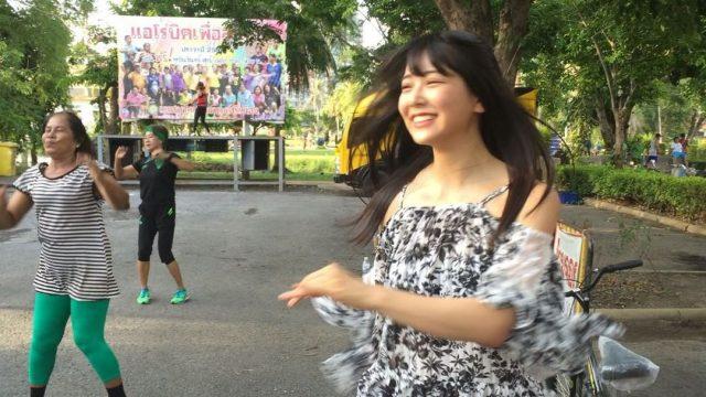 【動画】NMB48白間美瑠「『僕はいない』MV撮影の空き時間の私 笑 タイでダンスダンス 」