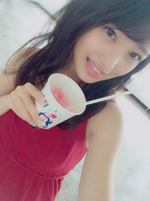 AKB48向井地美音「BRODYさんの撮影でした!大人っぽくクールな雰囲気になってるのでお楽しみに」