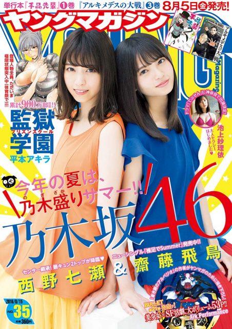 ヤングマガジン No.35 2016年8月15日号
