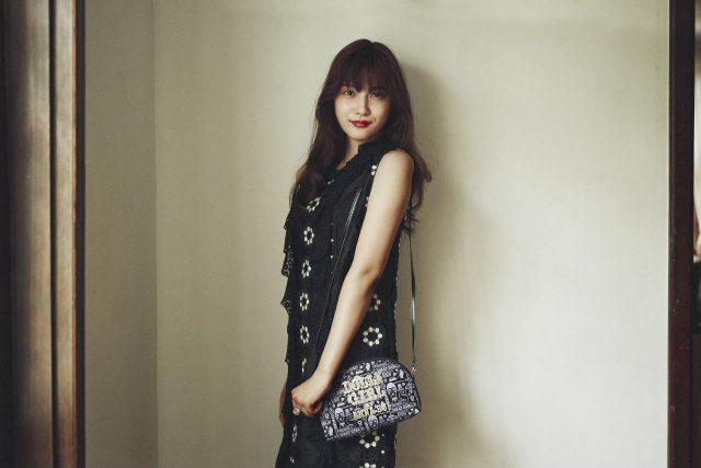 "「ANNA SUI 20TH ANNIVERSARY! ""Pop-sydelic"" world」掲載:入山杏奈(AKB48) [8/25発売]"