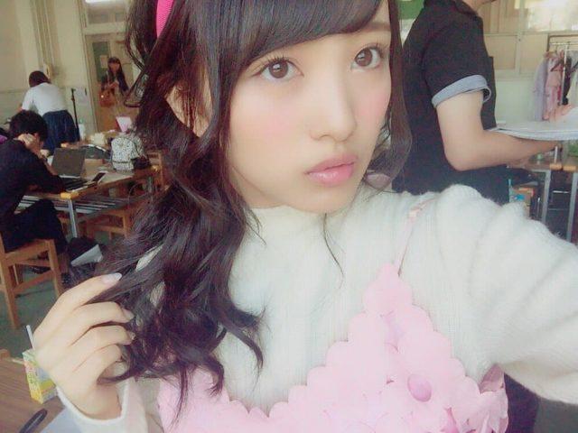 AKB48向井地美音「ラブベリー vol.3」オフショット