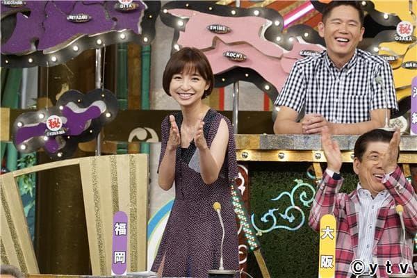 「秘密のケンミンSHOW」出演:篠田麻里子(福岡) [9/15 21:00~]