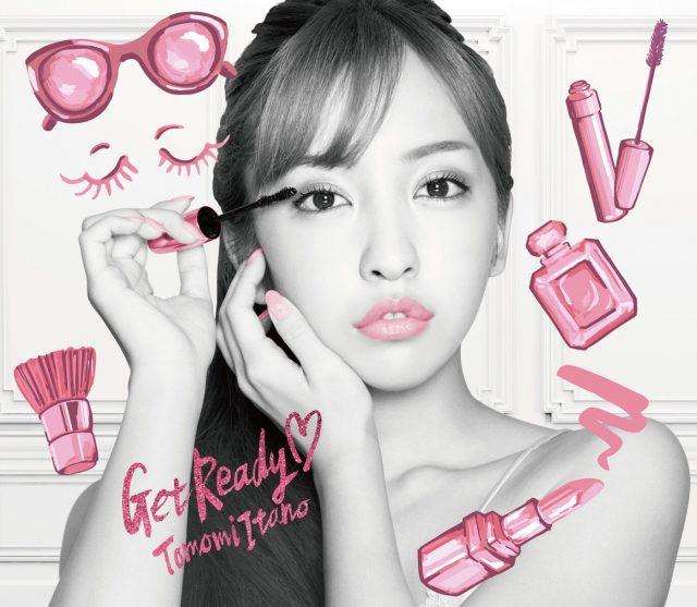 板野友美「Get Ready♡」初回限定盤 Type-B