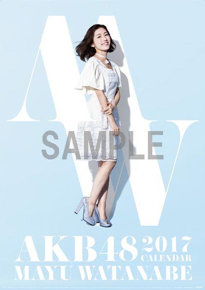 AKB48・SKE48・HKT48・NGT48 2017年 壁掛/卓上 個別カレンダー