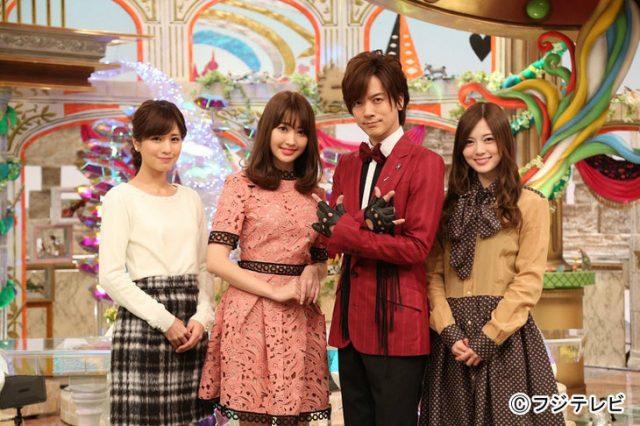 新番組「馬好王国~UmazuKingdom~」出演:小嶋陽菜(AKB48)  白石麻衣(乃木坂46)  [1/7 25:25~]