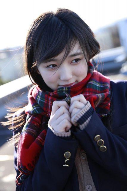 HKT48矢吹奈子「Graduation 2017 中学卒業」オフショット