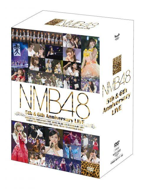 NMB48 5th & 6th Anniversary LIVE [DVD-BOX]