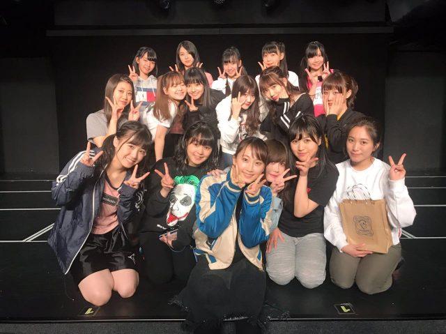 松井玲奈がSKE48劇場にやってきた!