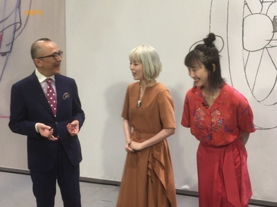「東京暇人」松井玲奈&平野綾がディズニー・アート展を紹介!  [5/19 26:00~]