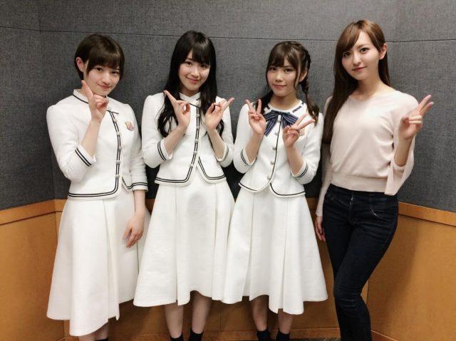HKT48森保まどか「乃木坂46の高山一実さん、中田花奈さん、川後陽菜さんが来てくださいました! 」