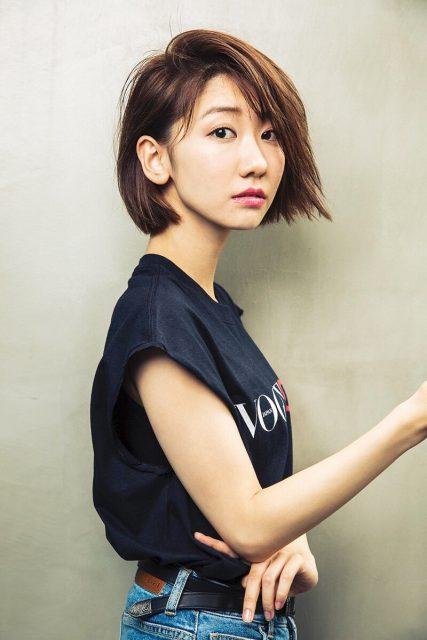 AKB48柏木由紀「髪を20センチ切りました」