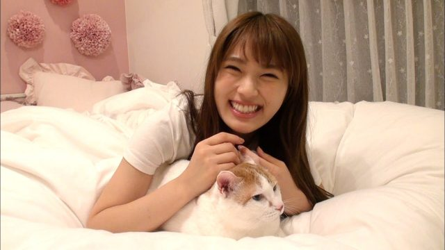 「生き物にサンキュー!!」NMB48渋谷凪咲を支えるネコの秘蔵映像と自宅を初公開! [9/6 19:00~]
