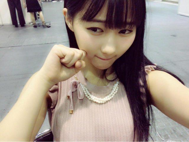 HKT48田中美久「やばいです!!!!( i _ i ) 驚きすぎて泣きながら打ってます泣 」