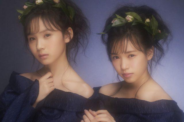 fairy w!nk デビューシングル「天使はどこにいる?」ジャケット&フルMV公開! <HKT48荒巻美咲&運上弘菜>