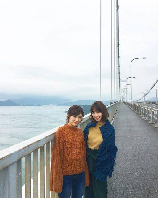 「タビフク。」#72:しまなみ海道 * AKB48柏木由紀&渡辺麻友、初めての2人旅!後編 [12/6 25:58~]