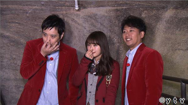 NMB48渋谷凪咲「ワケあり!レッドゾーン」下水道の中を愛する男! [3/8 26:35~]