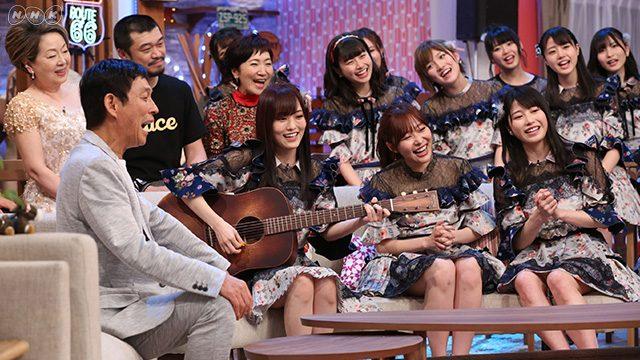 「第4回明石家紅白!」AKB48に厳しい合唱指導?指原には踊りのダメ出しが [4/30 19:30~]