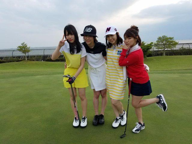 「SKE48 むすびのイチバン!」接待ゴルフでの太鼓持ちテクニックを学ぶ! [5/22 24:25~]