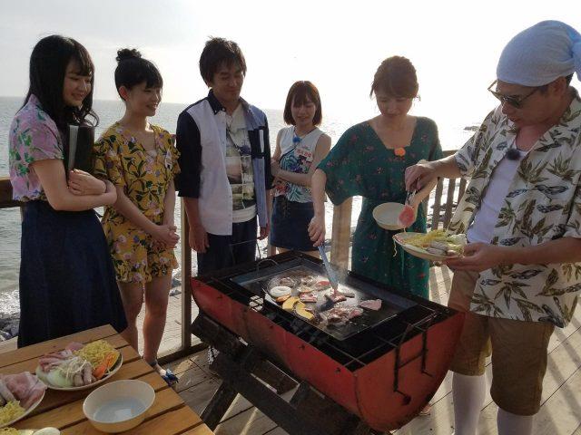 「SKE48 むすびのイチバン!」総選挙の健闘を称えて海辺でBBQ! [8/7 24:25~]