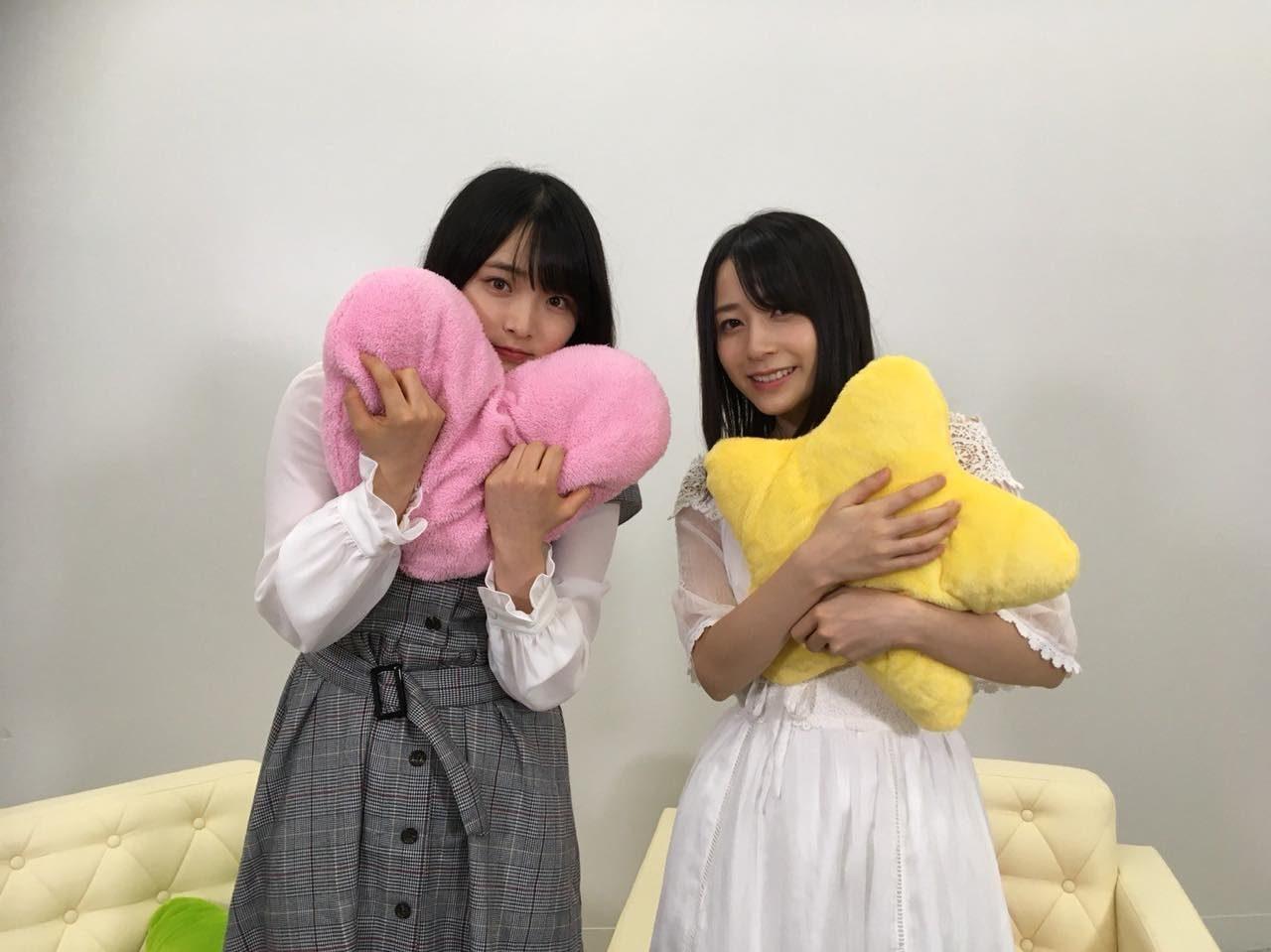 AKB48大森美優・佐々木優佳里「猫舌SHOWROOM」オフショット