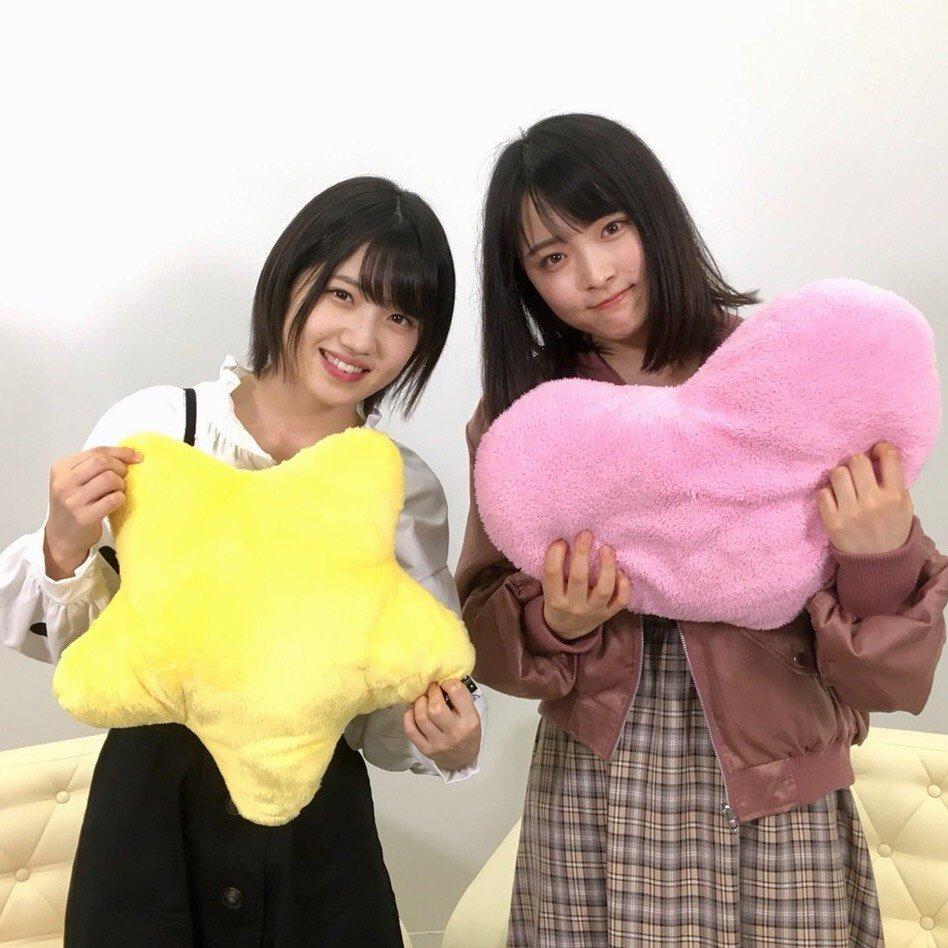 AKB48村山彩希・大森美優「猫舌SHOWROOM」オフショット