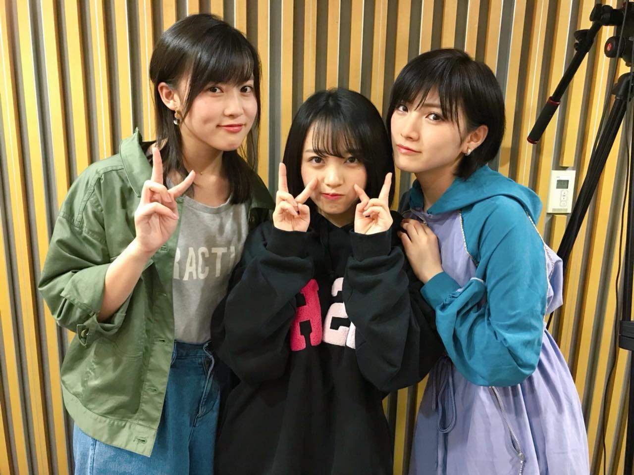 「AKB48のオールナイトニッポン」オフショット * 岡田奈々・岡部麟・向井地美音