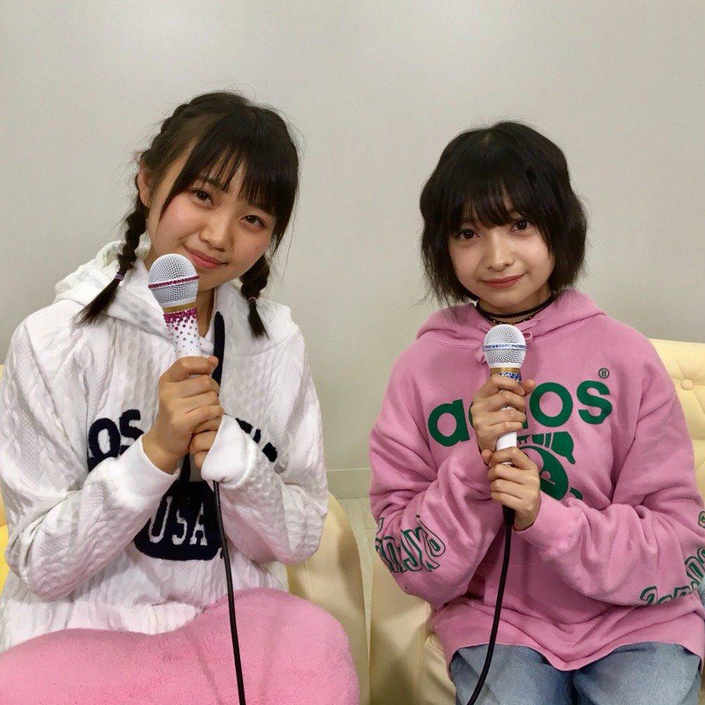 AKB48稲垣香織・梅本和泉「猫舌SHOWROOM」オフショット