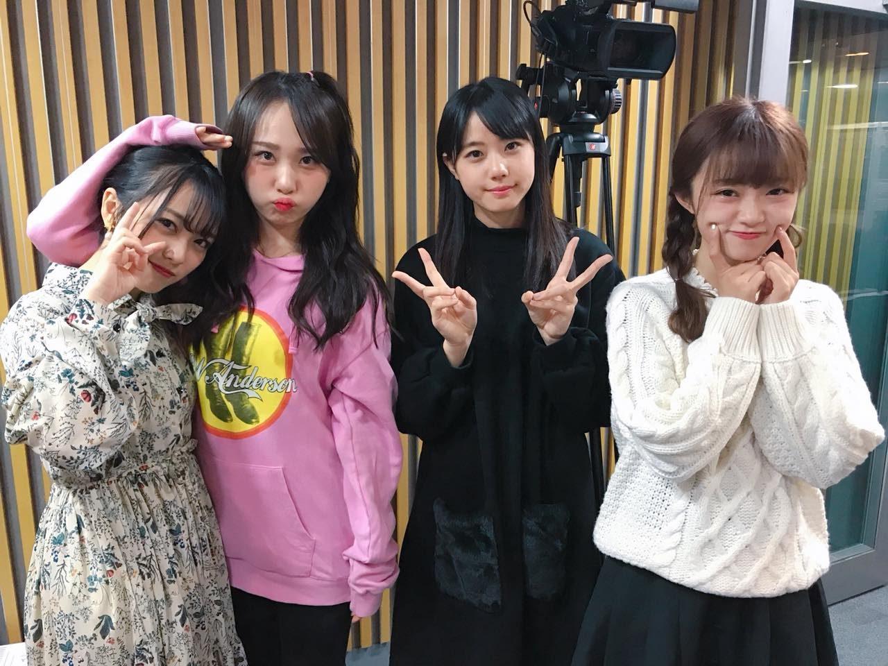 「AKB48のオールナイトニッポン」オフショット * 高橋朱里・向井地美音・中井りか・瀧野由美子