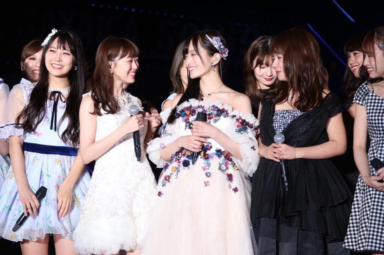 渡辺美優紀、山本彩卒コンでWセンター「かわいくてきれいだった♥ ほんとにお疲れ様とありがとう♡」