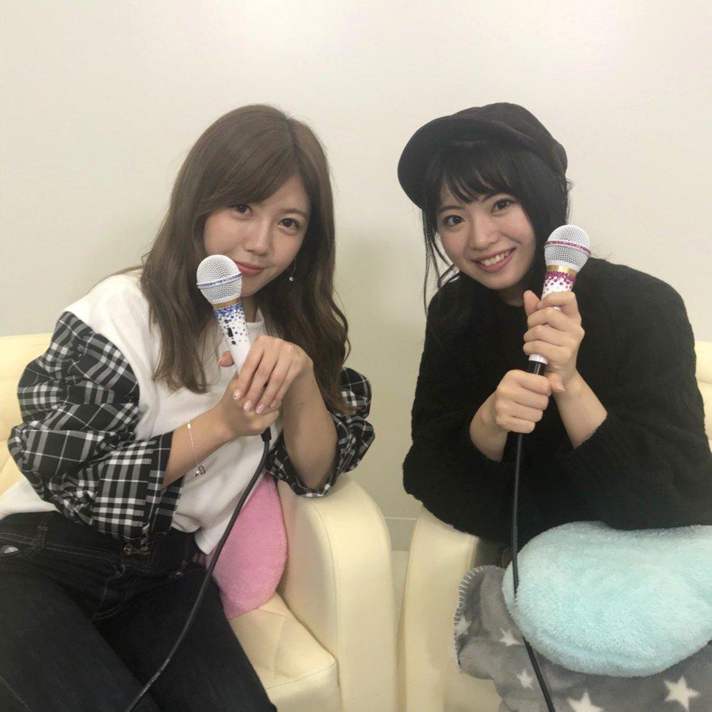 AKB48宮崎美穂・馬嘉伶「猫舌SHOWROOM」オフショット