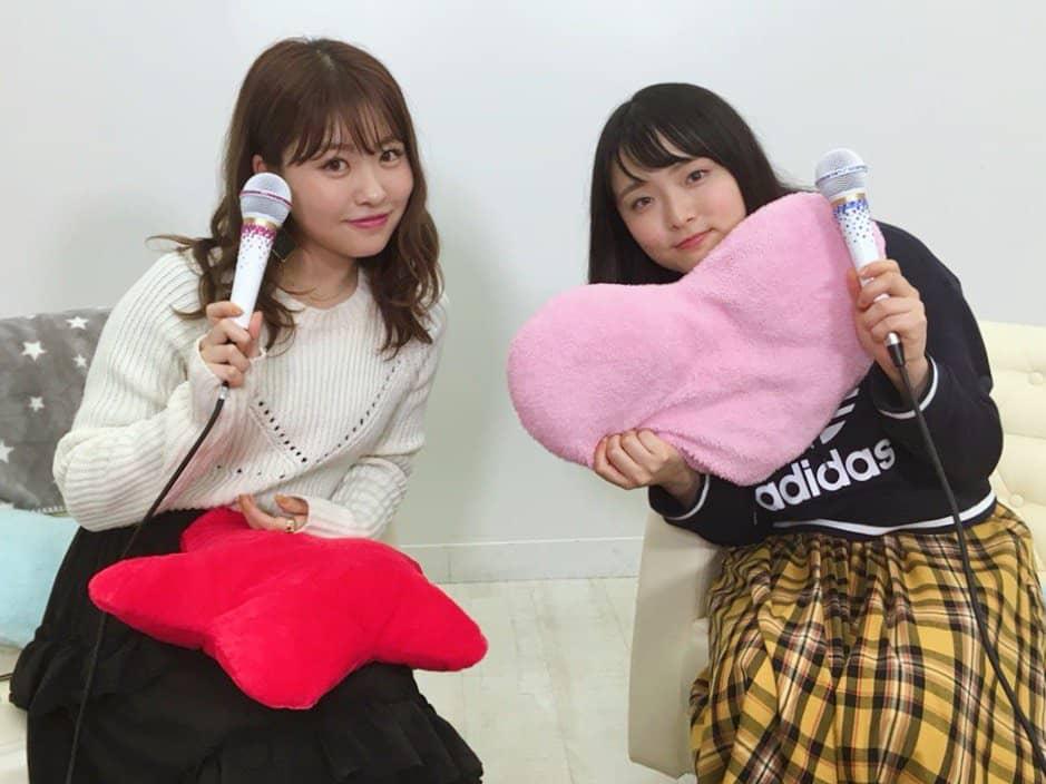 AKB48中西智代梨・大森美優「猫舌SHOWROOM」オフショット