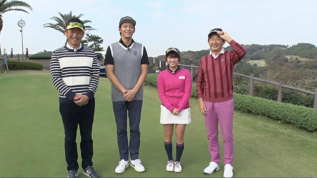 SKE48山内鈴蘭「石田純一のサンデーゴルフ」敦士とガチ対決! 前編 [12/16 11:00~]