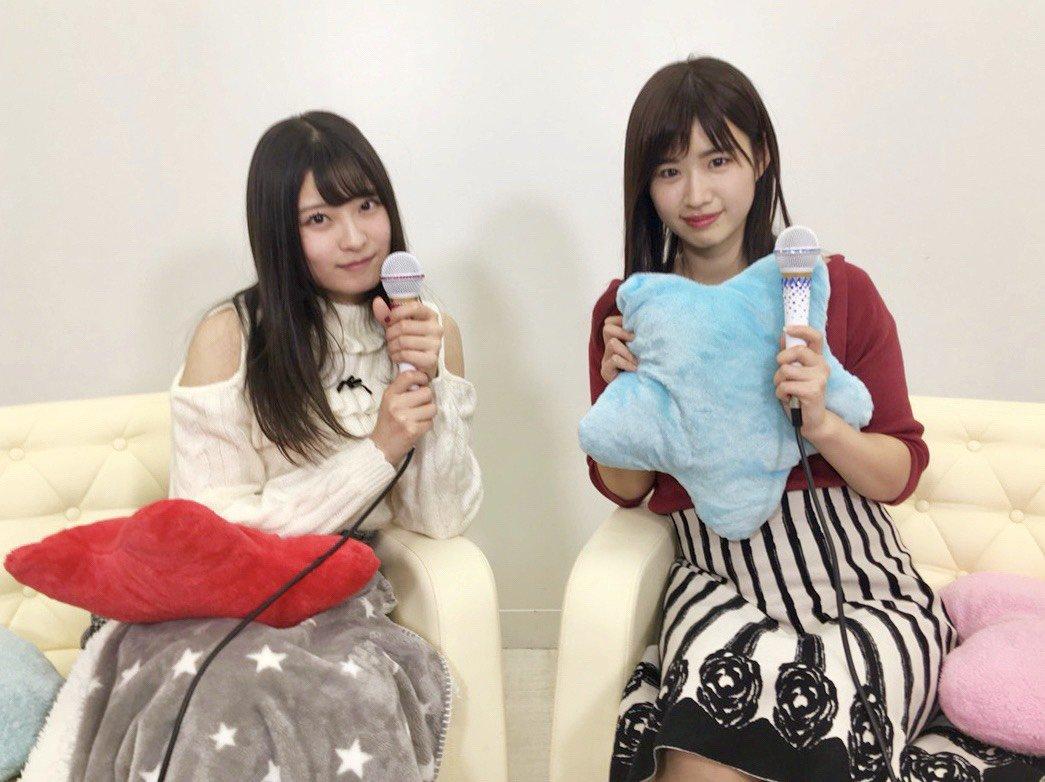 AKB48佐藤朱・行天優莉奈「猫舌SHOWROOM」オフショット