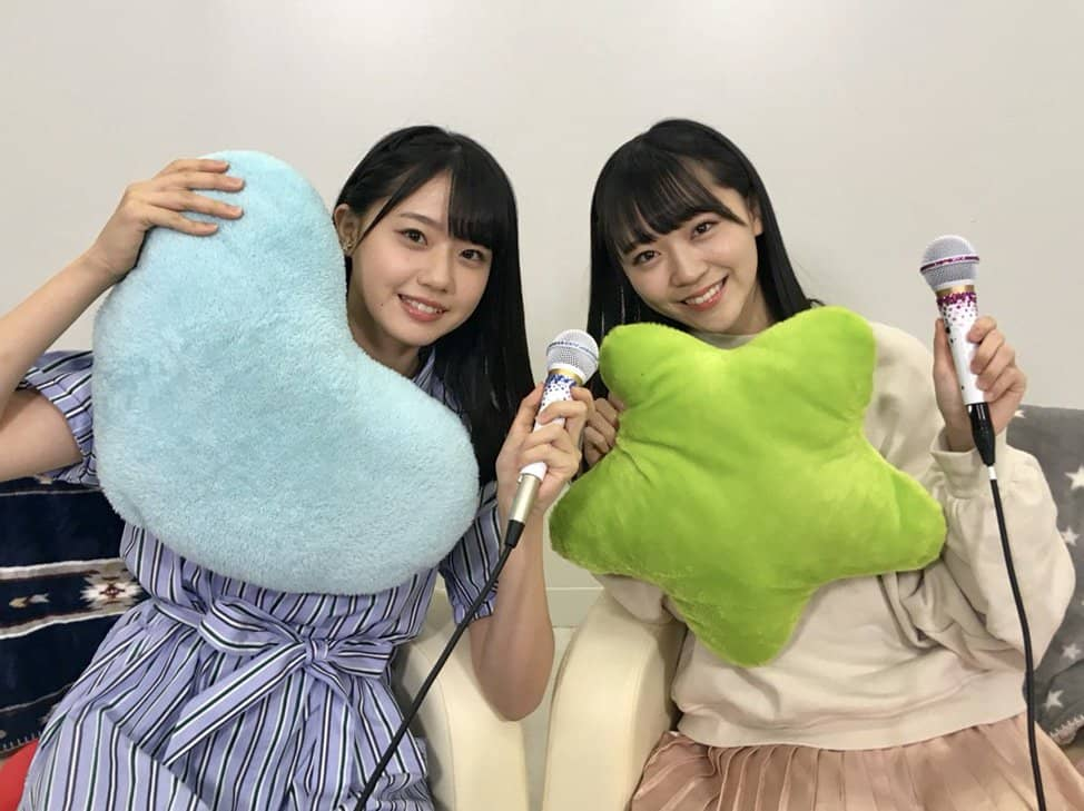 STU48瀧野由美子・土路生優里「猫舌SHOWROOM」オフショット