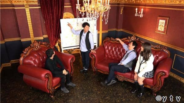 NMB48渋谷凪咲 * 日テレ「ワケあり!レッドゾーン」存在しない街の地図を書く男 [1/17 25:59~]