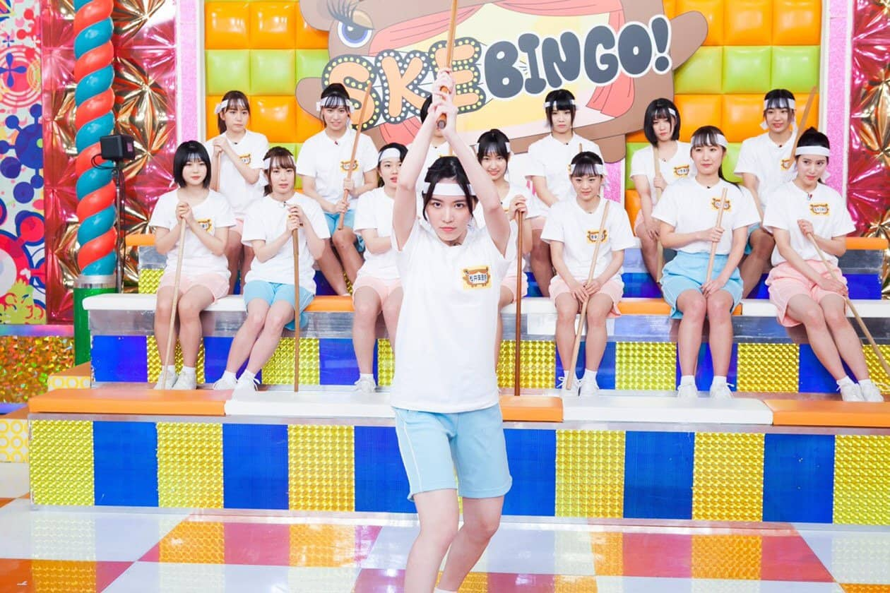SKE48 * 日テレ「SKEBINGO!」アクション演技をプロに学ぶ!三四郎も驚きの才能持つメンバーは? [2/4 25:29~]