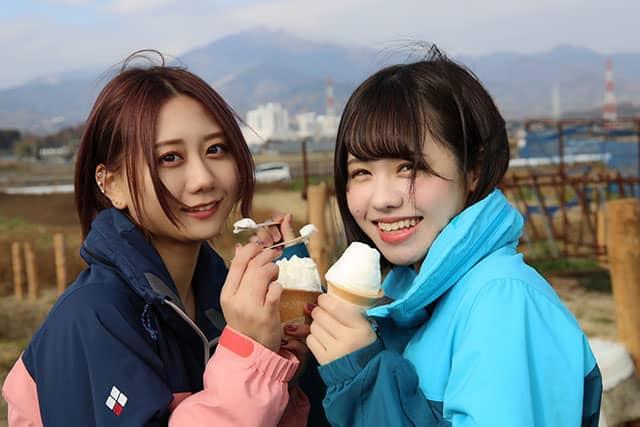 SKE48 古畑奈和・佐藤佳穂 * TBS「とれたてキス」テーマ:牛乳 / ナレーション:谷真理佳 [2/27 23:07~]