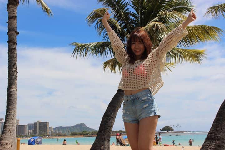 SKE48 大場美奈 ファースト写真集、今夏発売決定!撮影で訪れたハワイで発表!