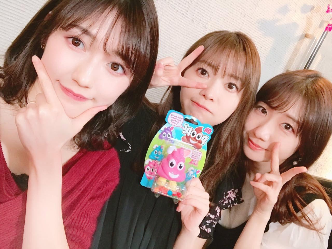 HKT48 指原莉乃・渡辺麻友・AKB48 柏木由紀「ニコ生女子会」オフショット