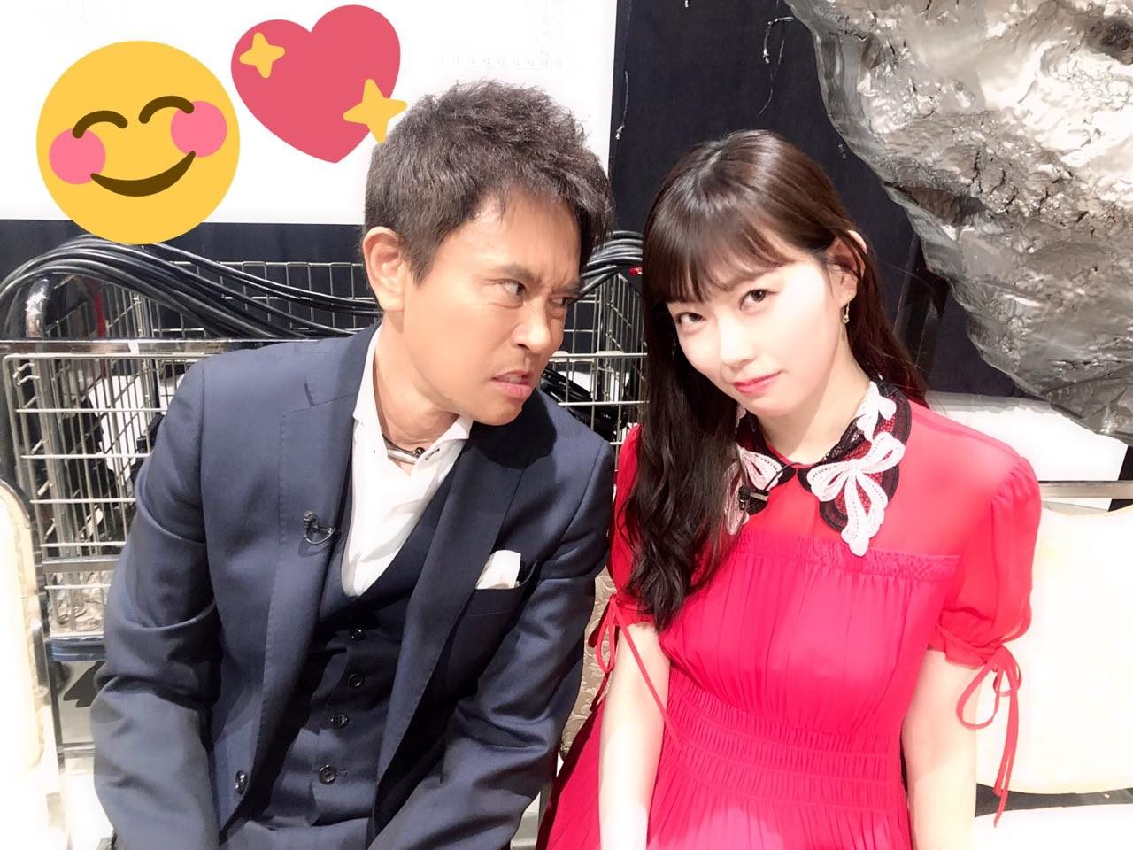 渡辺美優紀「いつも優しい浜田さんと♥」