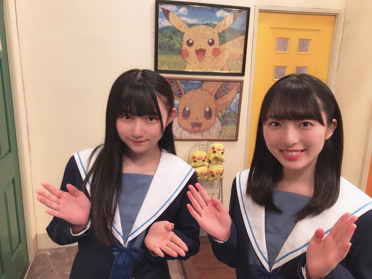 STU48 今村美月・門脇実優菜 * テレ東「ポケモンの家あつまる?」 [4/7 8:00~]