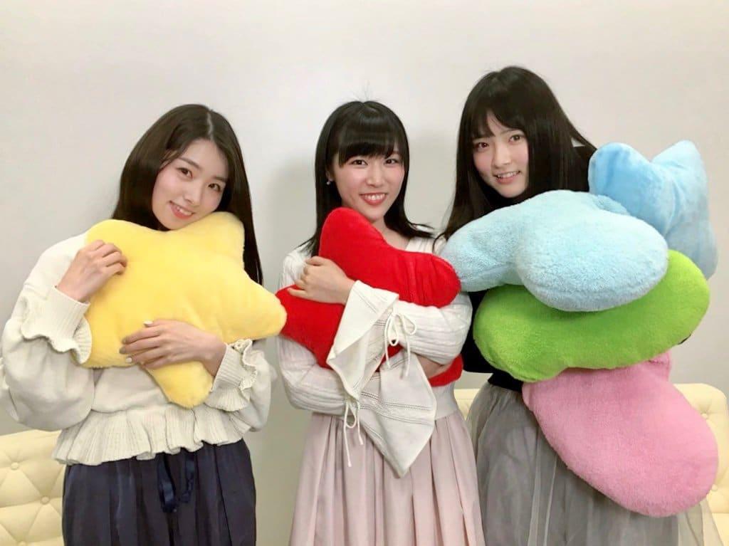 AKB48 岩立沙穂・北澤早紀・大森美優「猫舌SHOWROOM」オフショット