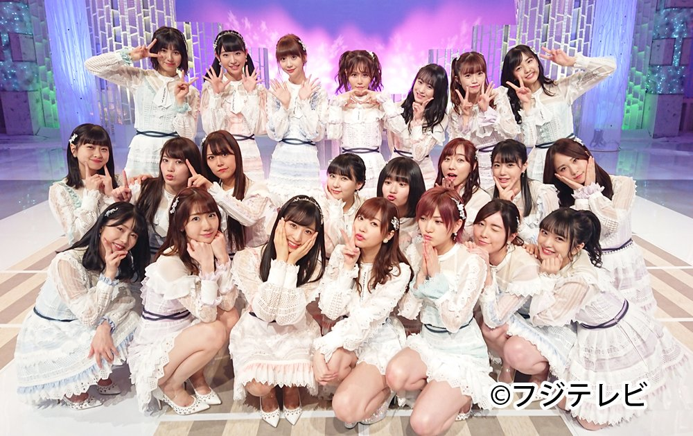 AKB48が指原莉乃ラストシングル「ジワるDAYS」を披露! フジテレビ「MUSIC FAIR」 [4/20 18:00~]