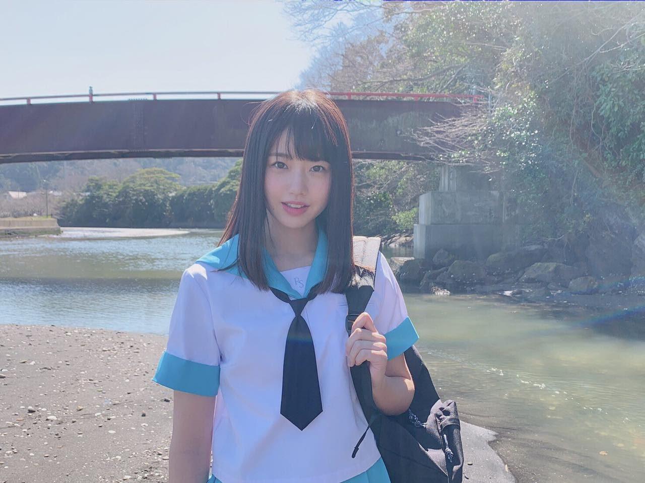 STU48 瀧野由美子 オフショット「ヤングチャンピオン烈 2019年 No.5」