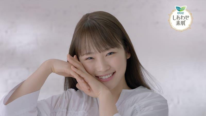 【動画】川栄李奈、花王「ロリエ しあわせ素肌」新TVCM「肌にいいこと めいっぱい」篇&メイキング映像公開!