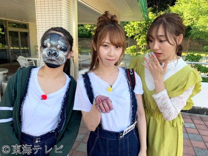 超リアル!あっと驚くボディペイントでドッキリ!? 東海テレビ「SKE48のバズらせます!!」 [6/18 24:25~]