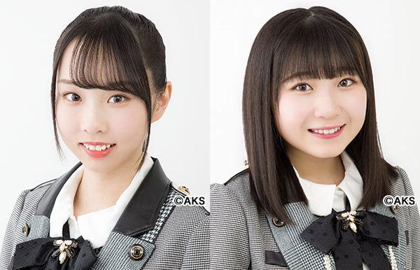 AKB48 岡田梨奈&小林蘭、チームK 正規メンバーに昇格!